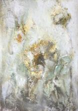 Olej, karton; 20 x 29 cm
