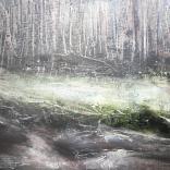 Olej, karton; 26 x 21 cm
