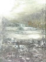 Olej na płótnie, 30 x 40 cm