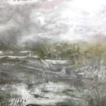 Olej, karton; 40 x 30 cm