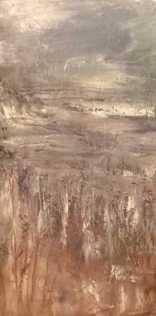 Olej na płótnie, 30 x 60 cm