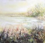 Olej na płótnie, 60 x 60 cm