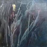 Olej na płótnie, 25 x 25 cm
