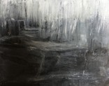 Olej, karton, 23 x 29 cm