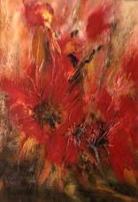 Olej, karton, 21 x 30 cm