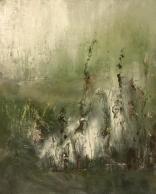 Olej, karton, 24 x 38 cm